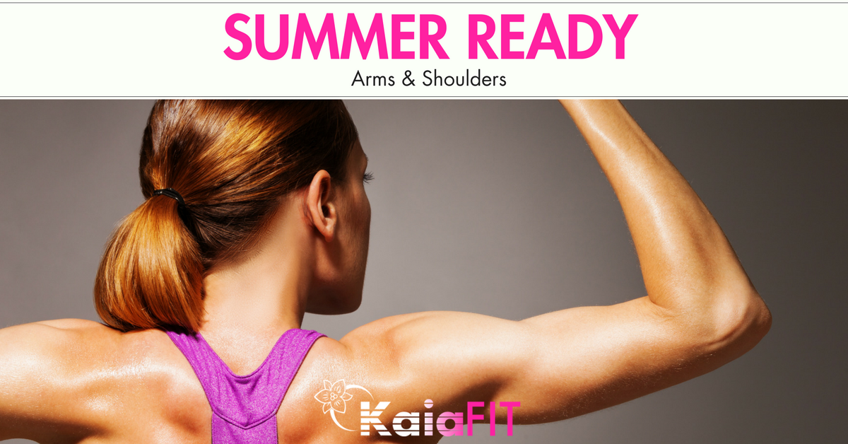 Sculpted Summer Shoulders The Smart Way