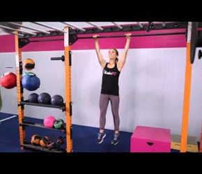 Kipping Pull Up Kaia Fit Demonstration