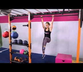 Knee Ups Kaia Fit Demonstration